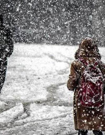 14 ilçede eğitime kar engeli
