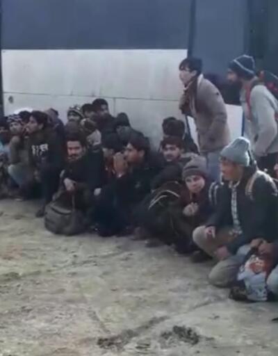 Van'da bir binada 84 kaçak göçmen yakalandı