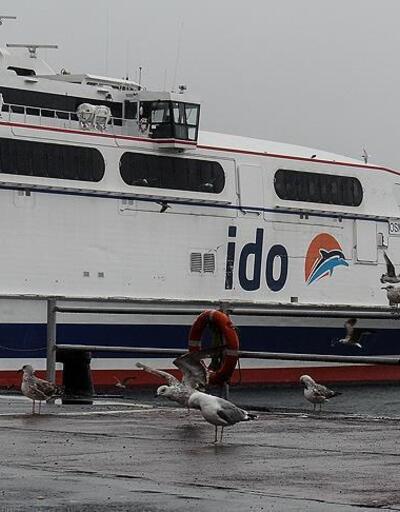 İDO ve Şehir Hatları'nın bazı seferleri iptal edildi