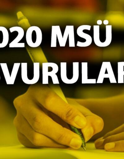 2020 MSÜ başvurusu nasıl yapılır? MSÜ sınav başvuru ücreti ne kadar?