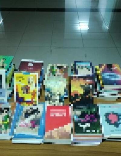 Malatya'da 95 bandrolsüz kitap ele geçirildi