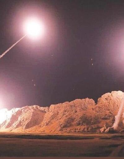 İran'dan ABD'ye misilleme: 'Onlarca füzeyle vurduk'