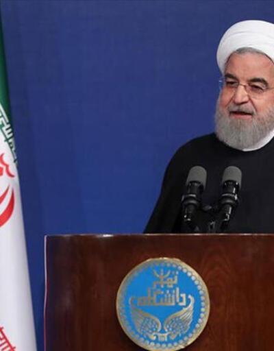 Son dakika... İran'ın ABD üssüne saldırısı sonrası Ruhani'den ilk açıklama