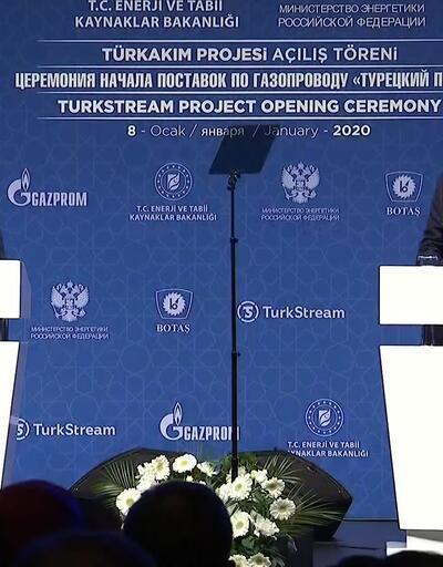 Türkiye'de tarihi gün! Türk Akımı vanasını dört lider çevirdi