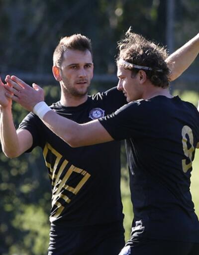 Osmanlıspor'dan Hatayspor'a 4 gol