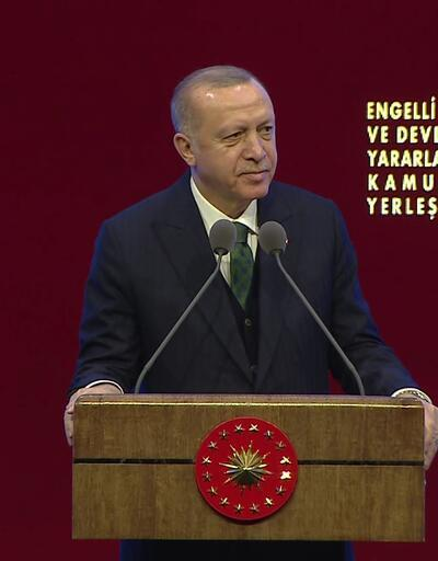 Erdoğan Beştepe'de kamu atama töreninde konuştu