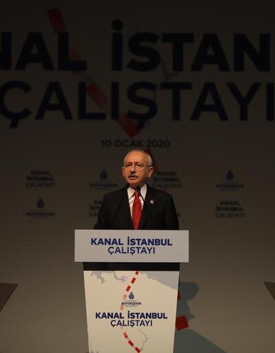 """Kılıçdaroğlu """"Kanal İstanbul Çalıştayı""""nda konuştu"""