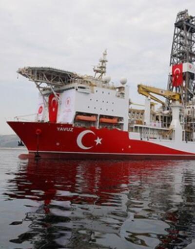 """Doğu Akdeniz'deki 2. sondaj çalışmasını tamamlayan """"Yavuz"""" Mersin açıklarında"""