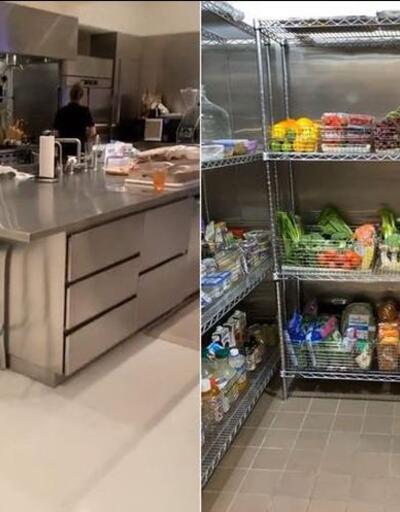 Kim Kardashian buzdolabının kapılarını takipçilerine açtı