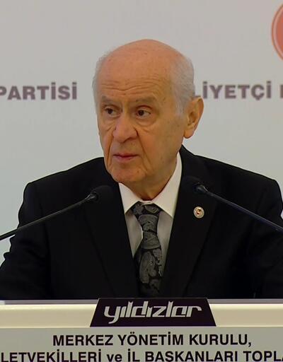 Son dakika: MHP Genel Başkanı Bahçeli'den açıklamalar