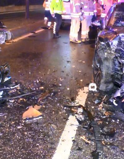 Alkollü sürücü ters yöne girdi: 4 yaralı