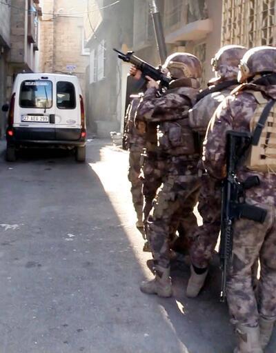 Gaziantep'te 755 polisle uyuşturucu operasyonu: 37 gözaltı