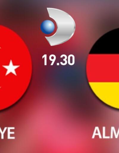Almanya-Türkiye maçı Kanal D'de