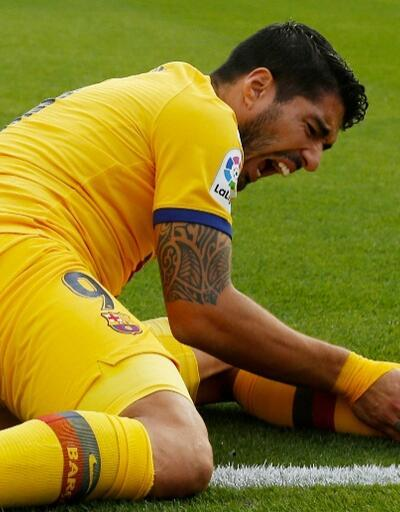 Luis Suarez 4 ay yok
