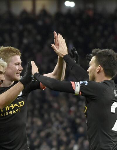 Manchester City'den Aston Villa'ya 6 gol
