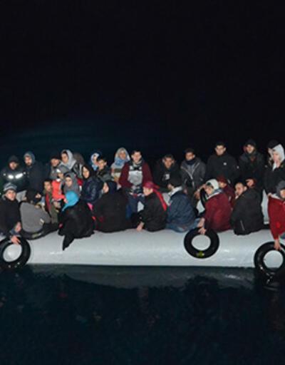 İzmir'de 131 düzensiz göçmen yakalandı