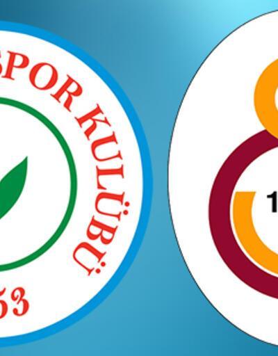 Rizespor Galatasaray Türkiye Kupası maçı ne zaman, saat kaçta?