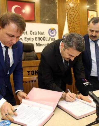 Tokat Belediyesi ile Hizmet İş arasında toplu sözleşme imzalandı
