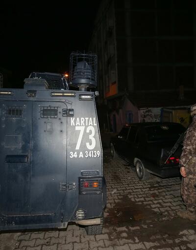 İstanbul'da uyuşturucu operasyonu: Çok sayıda şüpheli gözaltında