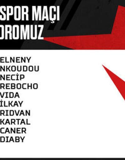 Beşiktaş kadrosunda 5 eksik