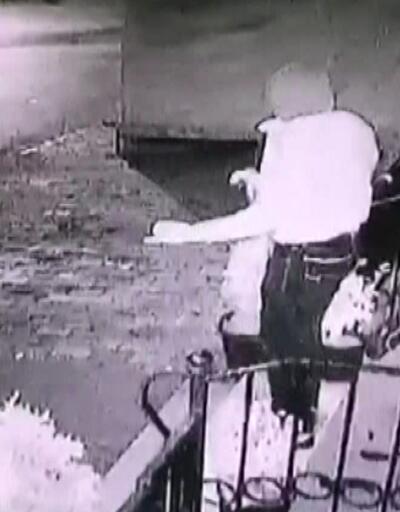 Halaylı soygun kamerada