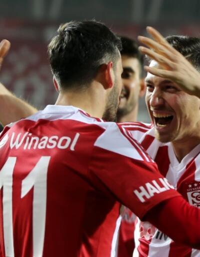 Sivasspor 2020'ye de muhteşem başladı