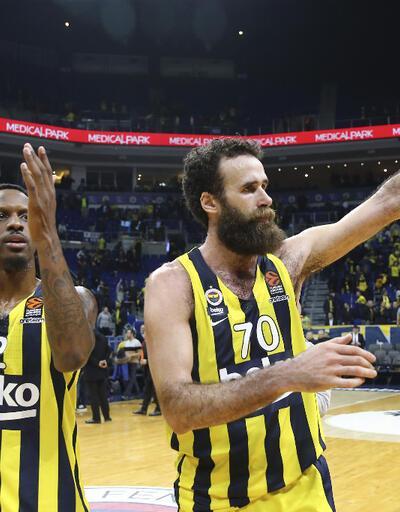 Fenerbahçe'den ASVEL'e 22 sayı fark