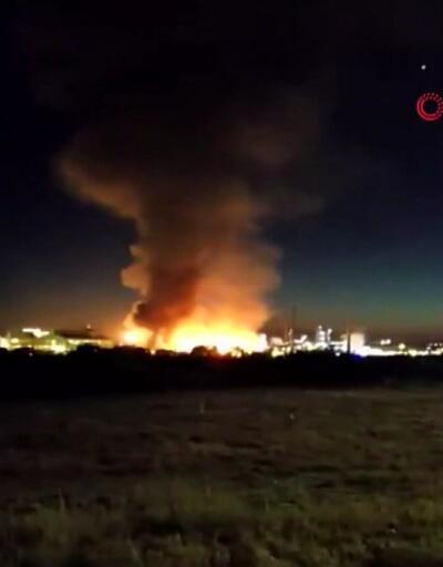 İspanya'da kimyasal patlama