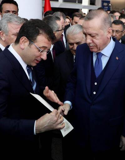 İmamoğlu, Cumhurbaşkanı Erdoğan'a 4 sayfalık mektup verdi