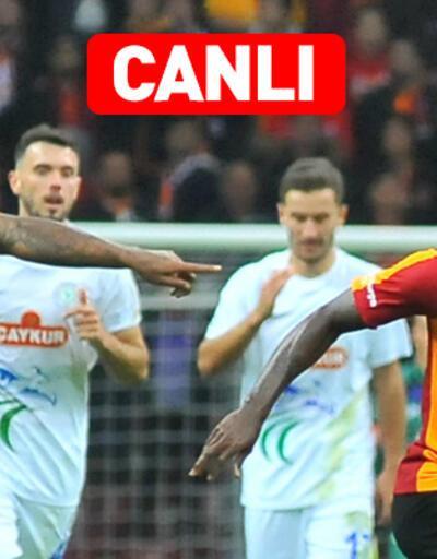 Rizespor Galatasaray CANLI YAYIN