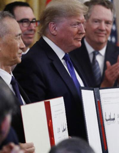 ABD ve Çin arasında tarihi anlaşma!  İmzalar atıldı