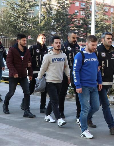 Niğde merkezli FETÖ operasyonunda yakalanan 10 şüpheli adliyeye sevk edildi