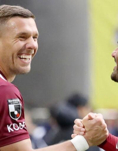 Lukas Podolski ile anlaşma tamam