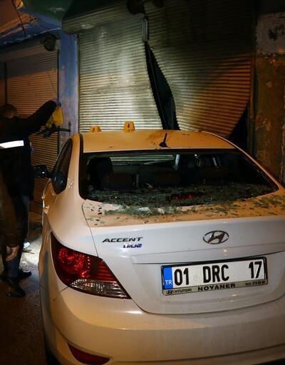 Adana'da seyir halindeki araca silahlı saldırı