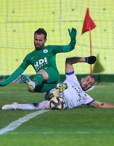 Giresunspor 3 golle kazandı