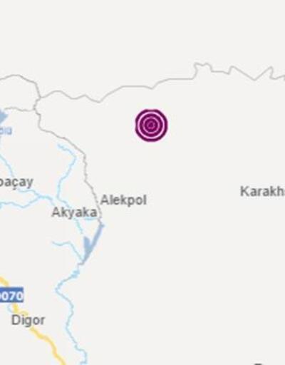 Ermenistan'da deprem!