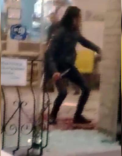 Palayla restorana saldırdı, polis vurarak etkisiz hale getirdi