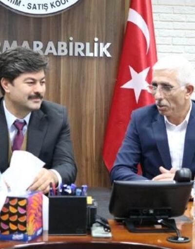 Necmettin Erkan, Marmarabirlik'i ziyaret etti