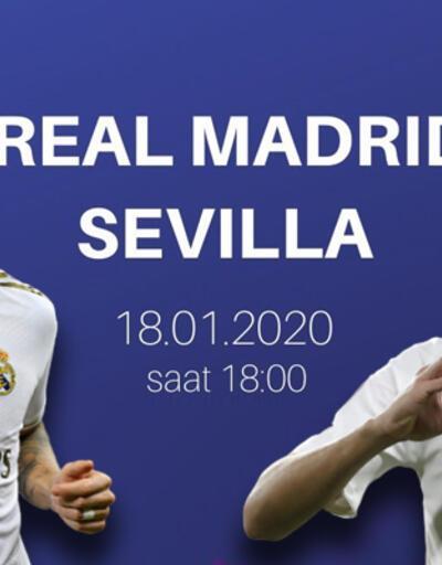 Real Madrid Sevilla maçı şifresiz canlı izle