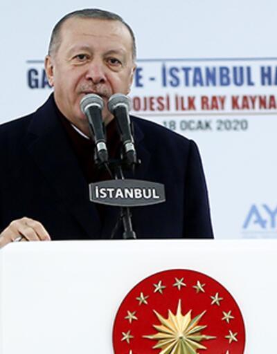 Cumhurbaşkanı Erdoğan'dan Gayrettepe-İstanbul Havalimanı Metro Projesi'ne ilişkin paylaşım