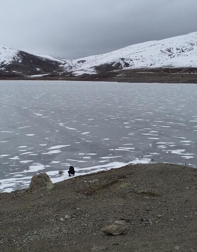 Donan göller yürüyüş parkuruna dönüştü