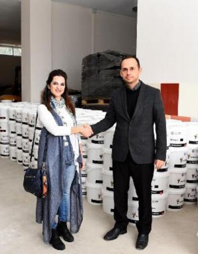 Seyhan Belediyesi'nden okullara boya desteği