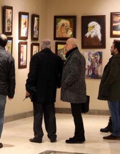 Gaziantep'te, resim sergisi açıldı