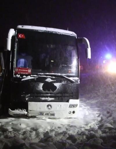 Sivasspor'un altyapı oyuncuları kaza yaptı: 7 yaralı