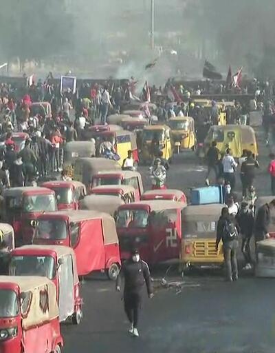 Irak'ta sokaklar alev alev!
