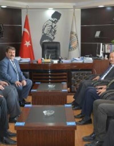 MHP'li Taytak'tan Dinar Belediyesi'ne ziyaret