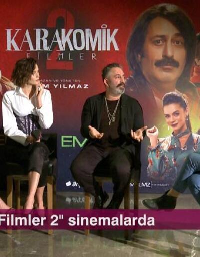 Karakomik Filmler 2 filminin başrol oyuncuları Afiş'e konuk oldu
