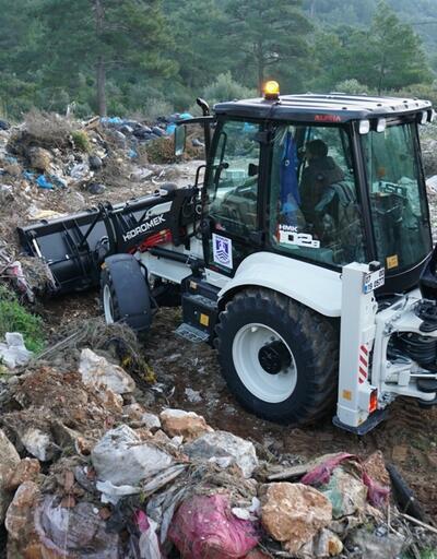 Ormandan tam 65 ton çöp çıktı