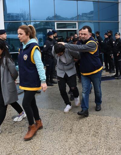 """Bursa'da """"change"""" operasyonu! 17 şüpheli adliyede!"""
