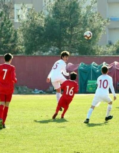U14 Milli Takım seçme maçları Lüleburgaz'da yapıldı